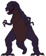 Tyrannosaurus rex from Fantasia by brermeerkat16-dakbiqm