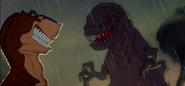 Dinosaur crossover We're Back Rex Vs Fantasia T-Rex 2