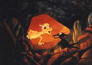 The land before time - Ducky's and Petrie's first meeting