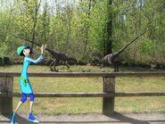Patty e i velociraptor