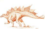 Stegosaurus armatus by paleopastori