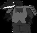 Minifig/Mutant Lizard Hybrid