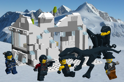 Antarctica Infiltration Boxart