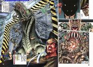Dino Crisis Issue 2 - pages 30 and 31