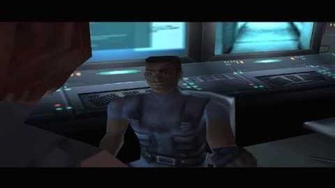 Control Room 1F cutscene 1