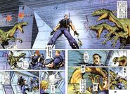 Dino Crisis Issue 1 - pages 26 and 27