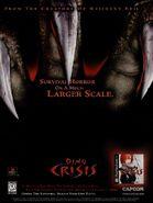 Dino Crisis poster