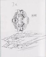 Dino Crisis 3 concept art - Juggernaut 2