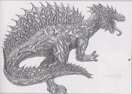 Dino Crisis 3 concept art - Miaplacidus 2