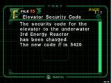 Elevator Security Code