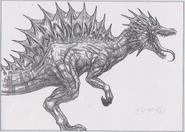 Dino Crisis 3 concept art - Miaplacidus 1