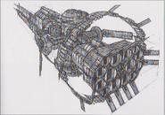 Dino Crisis 3 concept art - Ozymandias 3