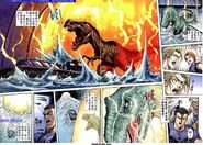 Dino Crisis Issue 6 - pages 32 and 33