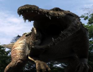 The new dinocroc