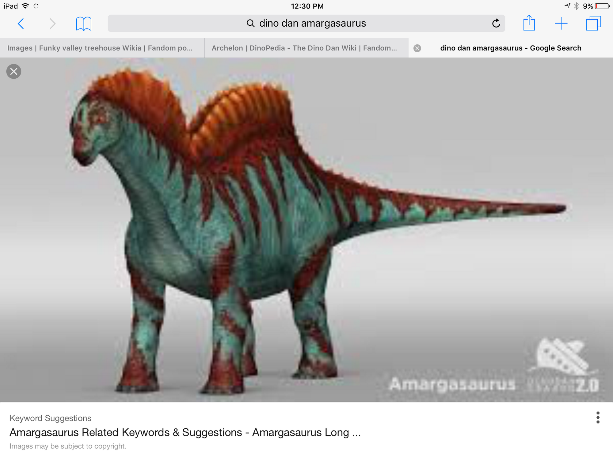 Amargasaurus Dinopedia The Dino Dan Wiki Fandom