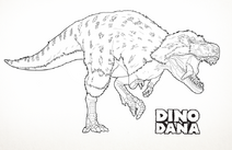 Nanuqsaurus coloring book