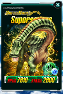 Super Rare Supersaurus