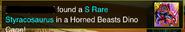 SR styra horned beast