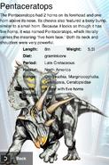 Album Rare Pentaceratops
