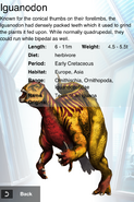 Album Rare Blitz Iguanodon
