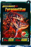 Super Rare Tyrannotitan