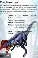 Album Rare Regenerate Dilophosaurus