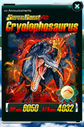 Super Rare Cryolophosaurus