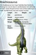 Album DNA Brachiosaurus