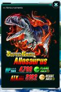 Super Rare Allosaurus