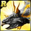 Rare Triceratops