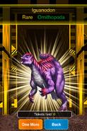 Rare Iguanodon