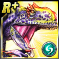 Rare+ Allosaurus Icon