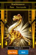 Rare Brachiosaurus