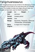 Album DNA Yangchuanosaurus