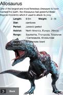 Album Rare Allosaurus
