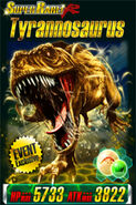 Super Rare Event Exclusive Tyrannosaurus