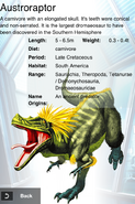 Album Rare Austroraptor