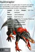 Album DNA Austroraptor