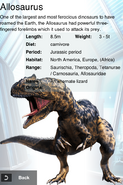 Album Rare Event Exclusive Allosaurus