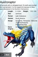 Album DNA Rare Austroraptor