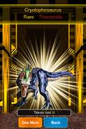 Rare Cryolophosaurus