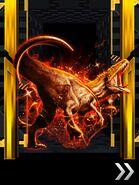 Super Rare Acrocanthosaurus in Blitz Dino Cage