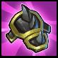 Black Iron Shield Spikes