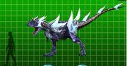 Carnotaurus armor