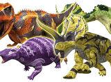 Dinosaurios en modo awakened