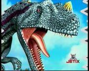 Ceratosaurio como se ve en la carta