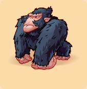 Gorilloz blue