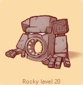 Rocky dark hole