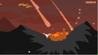 Death crater meteor