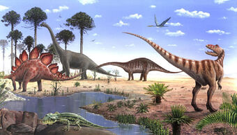 Lista Wiki Dinos123 Fandom They first appeared during the triassic period, between 243 and 233.23 million years ago. wiki index language wikis index wiki fandom